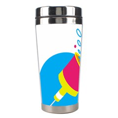 Celebration Injecting Stainless Steel Travel Tumblers by Mariart