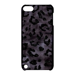 Skin5 Black Marble & Black Watercolor Apple Ipod Touch 5 Hardshell Case With Stand by trendistuff