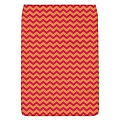 Chevron Wave Red Orange Flap Covers (l)  by Mariart