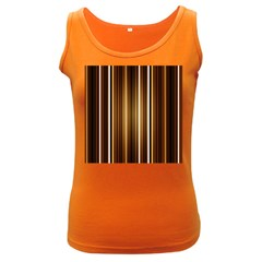 Brown Line Image Picture Women s Dark Tank Top by Mariart