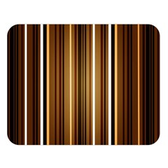 Brown Line Image Picture Double Sided Flano Blanket (large)  by Mariart