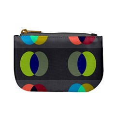 Circles Line Color Rainbow Green Orange Red Blue Mini Coin Purses by Mariart