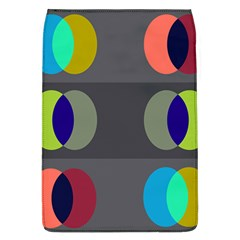 Circles Line Color Rainbow Green Orange Red Blue Flap Covers (l)  by Mariart