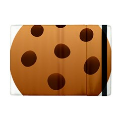 Cookie Chocolate Biscuit Brown Apple Ipad Mini Flip Case by Mariart