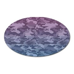 Celebration Purple Pink Grey Oval Magnet by Mariart