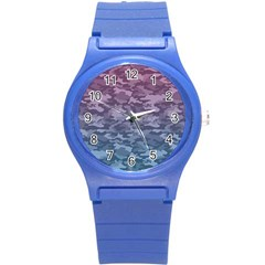Celebration Purple Pink Grey Round Plastic Sport Watch (s) by Mariart