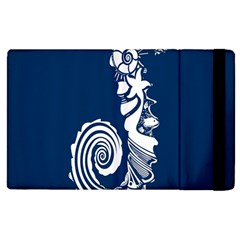 Coral Life Sea Water Blue Fish Star Apple Ipad 2 Flip Case by Mariart