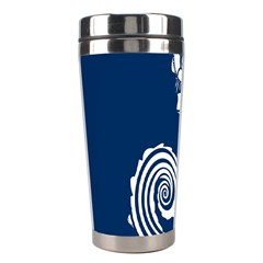 Coral Life Sea Water Blue Fish Star Stainless Steel Travel Tumblers by Mariart