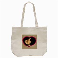 Don t Kiss With A Bloody Nose Face Man Girl Love Tote Bag (cream) by Mariart