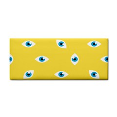 Eye Blue White Yellow Monster Sexy Image Cosmetic Storage Cases by Mariart