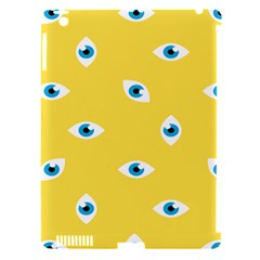 Eye Blue White Yellow Monster Sexy Image Apple Ipad 3/4 Hardshell Case (compatible With Smart Cover) by Mariart