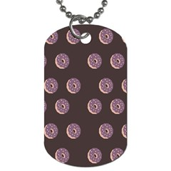 Donuts Dog Tag (two Sides) by Mariart