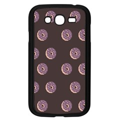 Donuts Samsung Galaxy Grand Duos I9082 Case (black) by Mariart