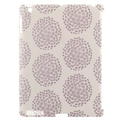 Flower Floral Star Sakura Purple Apple Ipad 3/4 Hardshell Case (compatible With Smart Cover) by Mariart
