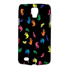 Hand And Footprints Galaxy S4 Active by Mariart