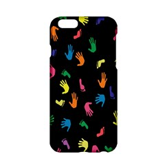Hand And Footprints Apple Iphone 6/6s Hardshell Case by Mariart
