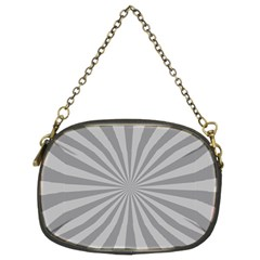 Grey Starburst Line Light Chain Purses (two Sides)  by Mariart