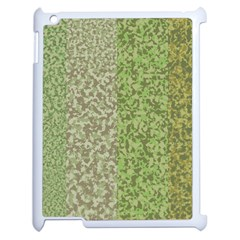 Camo Pack Initial Camouflage Apple Ipad 2 Case (white) by Mariart