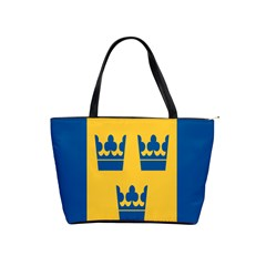King Queen Crown Blue Yellow Shoulder Handbags by Mariart