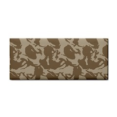 Initial Camouflage Brown Cosmetic Storage Cases by Mariart