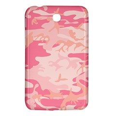 Initial Camouflage Camo Pink Samsung Galaxy Tab 3 (7 ) P3200 Hardshell Case  by Mariart