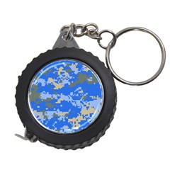 Oceanic Camouflage Blue Grey Map Measuring Tapes by Mariart