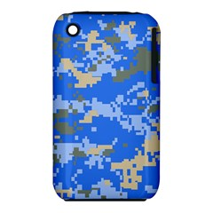 Oceanic Camouflage Blue Grey Map Iphone 3s/3gs by Mariart