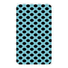 Polka Dot Blue Black Memory Card Reader by Mariart
