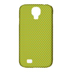 Polka Dot Green Yellow Samsung Galaxy S4 Classic Hardshell Case (pc+silicone) by Mariart