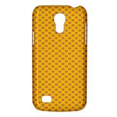 Polka Dot Orange Yellow Galaxy S4 Mini by Mariart