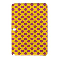 Polka Dot Purple Yellow Samsung Galaxy Tab Pro 10 1 Hardshell Case by Mariart