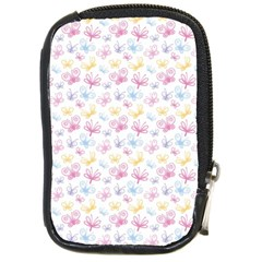 Pretty Colorful Butterflies Compact Camera Cases by tarastyle
