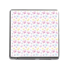 Pretty Colorful Butterflies Memory Card Reader (square) by tarastyle