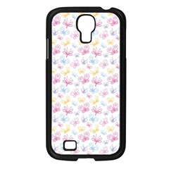 Pretty Colorful Butterflies Samsung Galaxy S4 I9500/ I9505 Case (black) by tarastyle