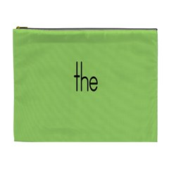 Sign Green The Cosmetic Bag (xl) by Mariart