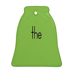Sign Green The Ornament (bell) by Mariart