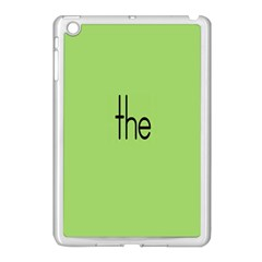 Sign Green The Apple Ipad Mini Case (white) by Mariart