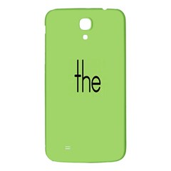 Sign Green The Samsung Galaxy Mega I9200 Hardshell Back Case by Mariart