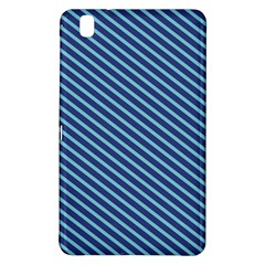 Striped  Line Blue Samsung Galaxy Tab Pro 8 4 Hardshell Case by Mariart