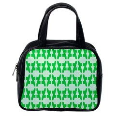 Sign Green A Classic Handbags (one Side) by Mariart