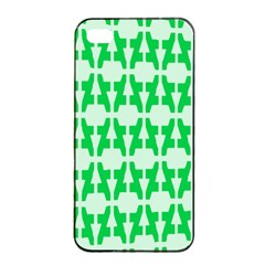 Sign Green A Apple Iphone 4/4s Seamless Case (black) by Mariart