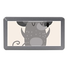 Tooth Bigstock Cute Cartoon Mouse Grey Animals Pest Memory Card Reader (mini) by Mariart