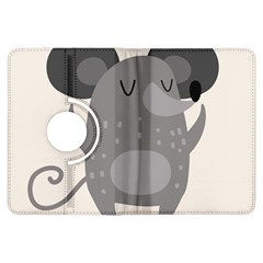 Tooth Bigstock Cute Cartoon Mouse Grey Animals Pest Kindle Fire Hdx Flip 360 Case by Mariart