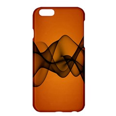 Transparent Waves Wave Orange Apple Iphone 6 Plus/6s Plus Hardshell Case by Mariart