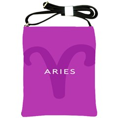 Zodiac Aries Shoulder Sling Bags by Mariart