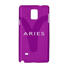 Zodiac Aries Samsung Galaxy Note 4 Hardshell Case by Mariart