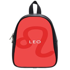 Zodiac Leo School Bags (small)  by Mariart