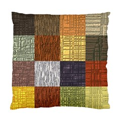 Blocky Filters Yellow Brown Purple Red Grey Color Rainbow Standard Cushion Case (one Side) by Mariart
