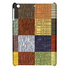 Blocky Filters Yellow Brown Purple Red Grey Color Rainbow Apple Ipad Mini Hardshell Case by Mariart