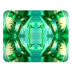 Green Lantern 3d Effect Double Sided Flano Blanket (large)  by 3Dbjvprojats